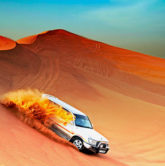 The best holiday trip Morning Dubai Desert Safari
